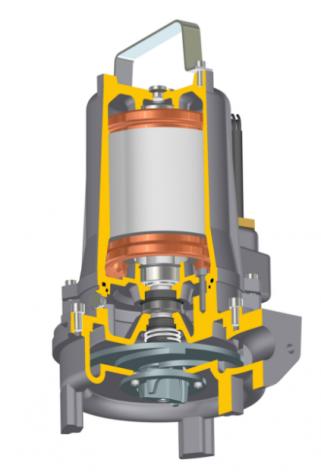 Javelin Jivex D5017 Submersible Grinder Pump