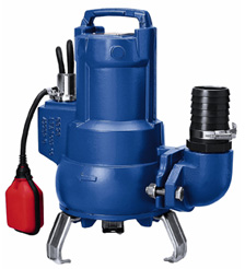KSB AMA-Porter SB 545 SE Cutter Pump, 240V complete with floatswitch