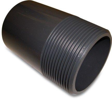 "PVC-U Barrel Nipple 4"""