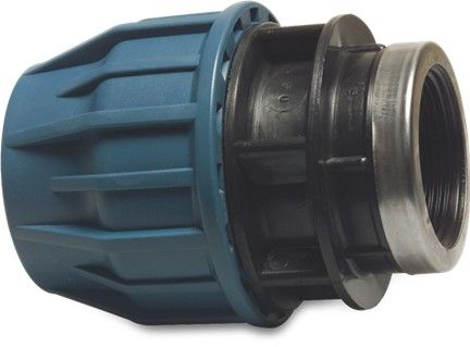 "Compression Adaptor 63mm x 1½"" with reinforcing ring"