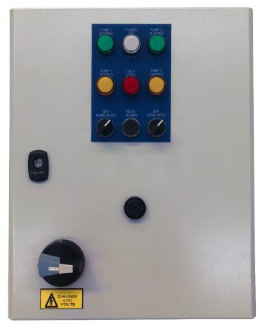 Electromechanical Control Panel, Dual Pump, Three Phase