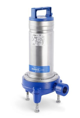 Flygt DXG 25-11 Grinder pump with Stainless body and blue handle