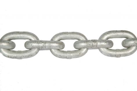 5m long Galvanised Lifting Chain