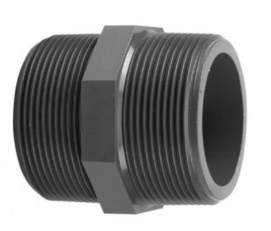 """PVC-U Threaded Nipple 2½"""""""