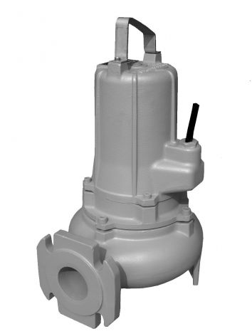 Javelin TL817 Submersible pump with flanged outlet and handle