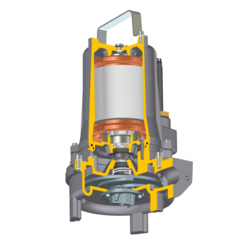 Javelin Jivex D5017 Submersible Grinder Pump