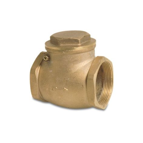 "2"" Brass Swing Check Valve"