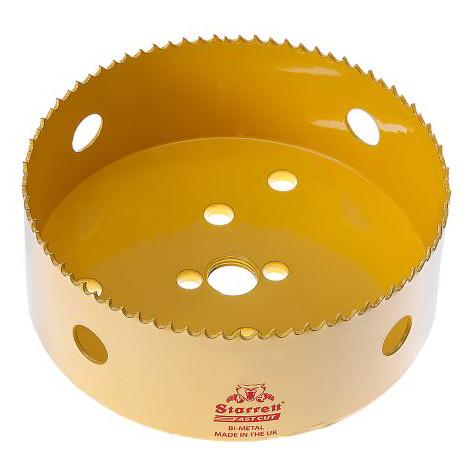 Starrett Fastcut 121mm Hole Cutter - Yellow
