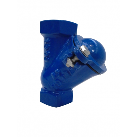 65mm Screwed BSP Ductile Iron Ball Check Valve