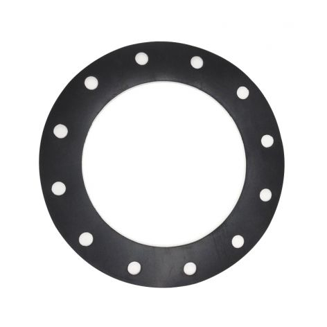 200mm EPDM gasket, black with 12holes