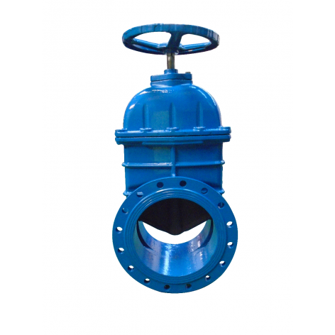 400mm Flanged Epoxy Coated Ductile Iron Gate Valve