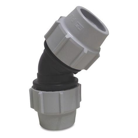 45° Compression Coupler 63mm