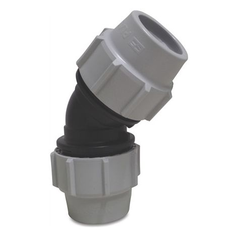 45° Compression Coupler 90mm