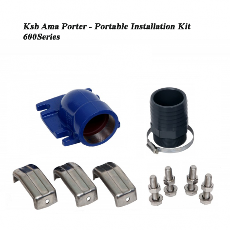 Portable Installation Kit for KSB AMA-Porter 600 Series Pumps (DN65)