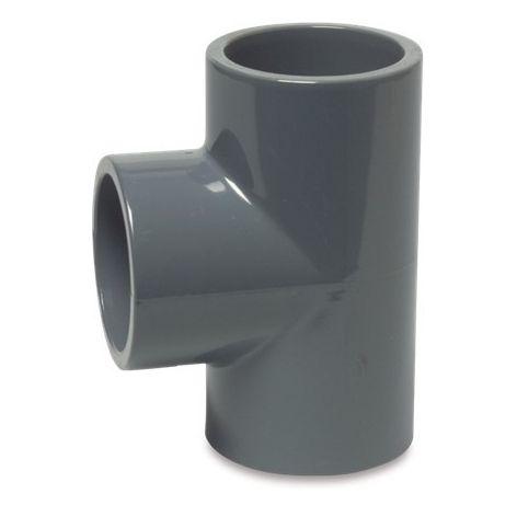 "PVC-U Plain Tee 1½"""